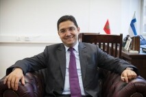 Nasser Bourita, ministre délégué aux Affaires étrangères. JENNY MATIKAINEN / YLE