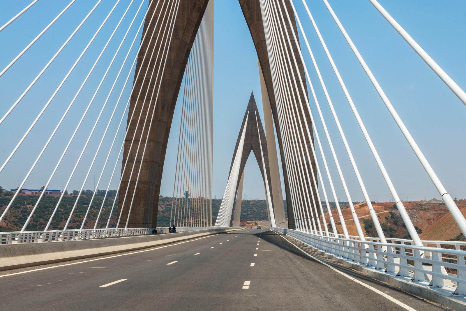 Le maroc se dote de son premier pont haubané l un des plus longs